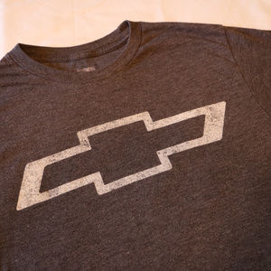 Boys Chevy Dark Grey T-Shirt Small